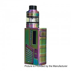 Authentic Tesla Colt Mini 80W 2000mAh TC VW Box Mod + H8 Mini Tank Kit - Rainbow, Zinc Alloy + Stainless Steel, 7~80W, 2ml
