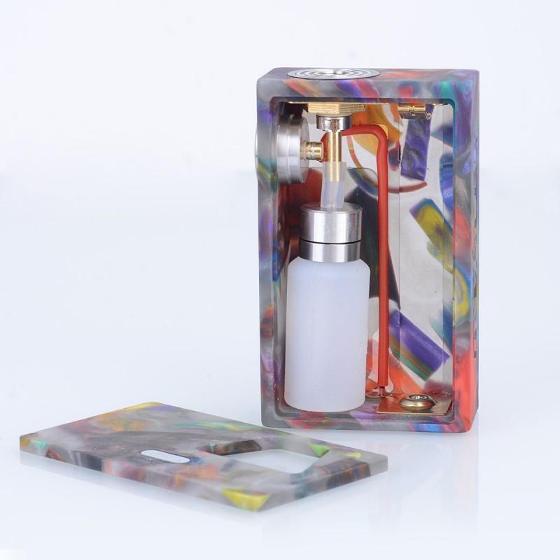 Authentic Aleader Funky Black 7ml Squonk Box Mod + 24mm RDA Kit