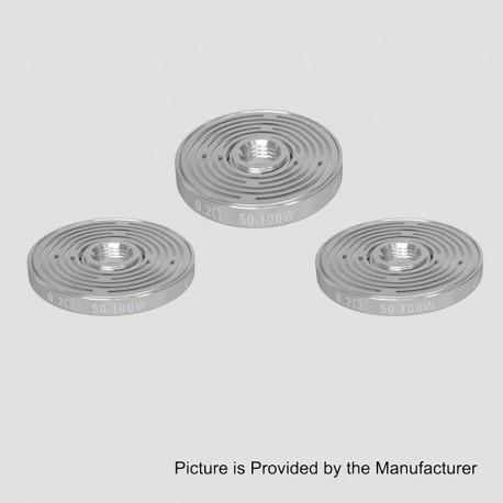 Authentic Vandy Vape Replacement MAZE Coil for Maze Sub Ohm BF RDA - 0.2 Ohm (50~100W) (3 PCS)