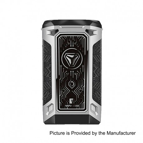Authentic Vaporesso Switcher 220W TC VW Variable Wattage Box Mod - Silver, Zinc Alloy, 2 x 18650