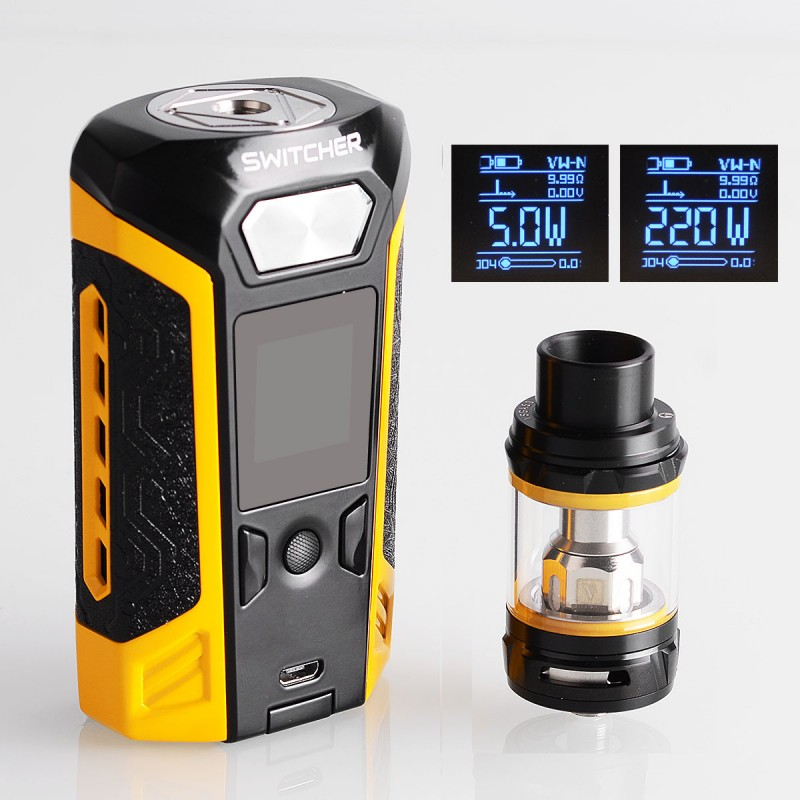 Image result for vaporesso switcher yellow