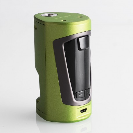 Authentic GeekVape GBOX 200W Squonk Box Mod - Army Green, 2 x 18650, 8ml