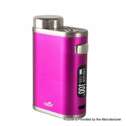 Authentic Eleaf iStick Pico 21700 100W TC VW Variable Wattage Box Mod - Hot Pink, 1~100W, 1 x 18650 / 21700