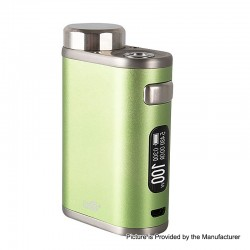 Authentic Eleaf iStick Pico 21700 100W TC VW Variable Wattage Box Mod - Greenery, 1~100W, 1 x 18650 / 21700