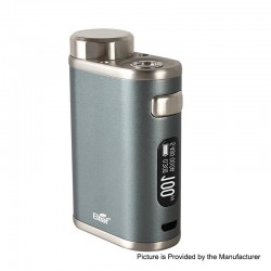 Authentic Eleaf iStick Pico 21700 100W TC VW Variable Wattage Box Mod - Grey, 1~100W, 1 x 18650 / 21700