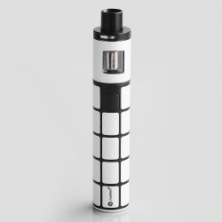 Authentic Joyetech eGo ONE TFTA 2300mAh Battery Starter Kit - White + Black, 2ml, 0.6 Ohm (15~30W)
