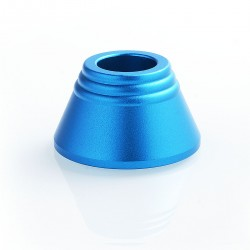 Display Base Stand for 15mm Tube Mod - Blue, Aluminum