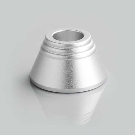 Display Base Stand for 15mm Tube Mod - Silver, Aluminum