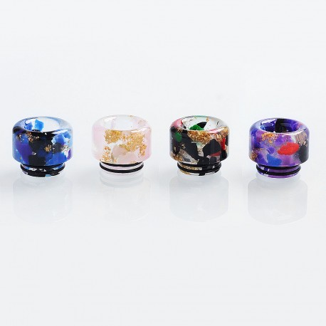 810 Replacement Drip Tip for TFV8 / TFV12 Tank / 528 Goon / Kennedy / Reload RDA - Random Color, Resin, 14mm