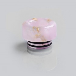 810 Anti-Spit Drip Tip for TFV8 / TFV12 Tank / 528 Goon / Kennedy / Reload RDA - Pink, Resin, 12mm