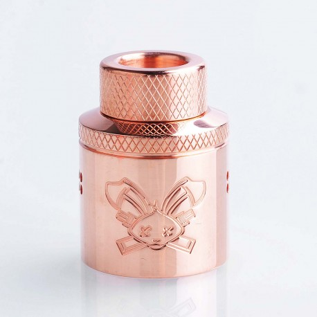 Authentic Hellvape Priest Challenge Cap for 24mm Dead Rabbit RDA - Copper, T2 Copper