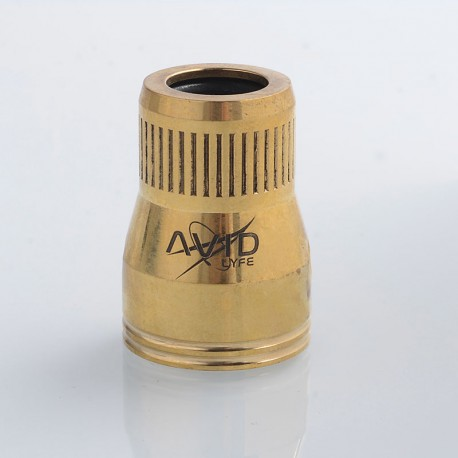 Authentic Avid Lyfe Saturn Cap V1 for Battle / Torpedo / Tugboat RDA - Gold, Brass