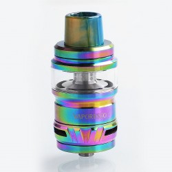Authentic Vaporesso Cascade Sub Ohm Tank Atomizer - Rainbow, 0.15 Ohm, 7ml, 25mm Diameter