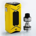 Authentic OBS Bat 218W TC VW Variable Wattage Box Mod + Damo Tank Kit - Yellow, 7~218W, 2 x 18650, 5ml, 25mm Diameter