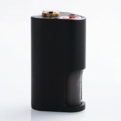 Authentic Yiloong Machete Mechanical Squonk Box Mod - Black, Aluminum, 8ml, 2 x 18650