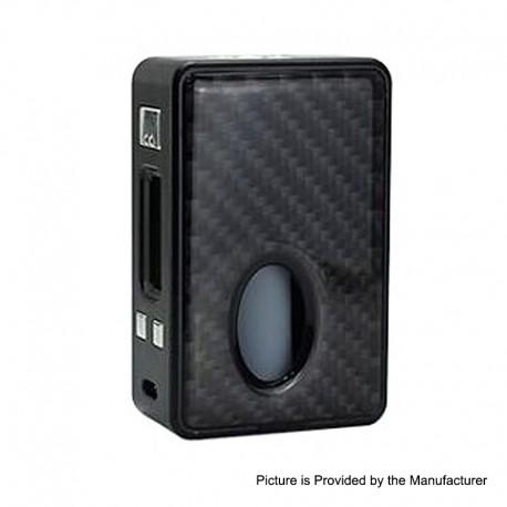 Authentic Hcigar VT Inbox V3 75W TC VW Varible Wattage Box Mod - Black Carbon Fiber, 1~75W, 1 x 18650, Evolv DNA75 Chip