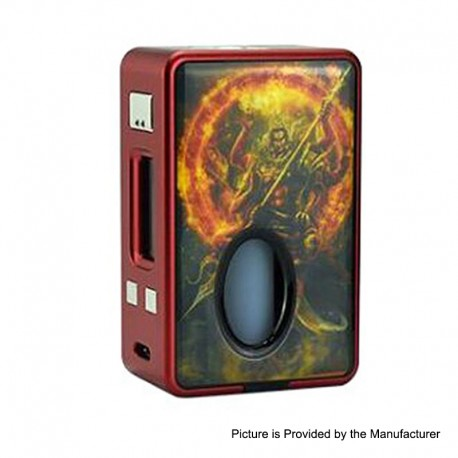 Authentic Hcigar VT Inbox V3 75W TC VW Varible Wattage Box Mod - Red Joss, 1~75W, 1 x 18650, Evolv DNA75 Chip