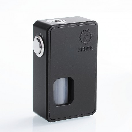 Authentic Coppervape BF V2 Squonk Mechanical Box Mod - Black, ABS, 10ml, 1 x 18650