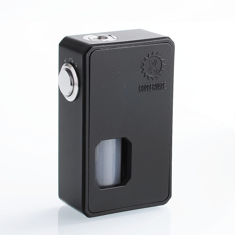 Authentic Coppervape BF V2 Black ABS 10ml Mechanical Squonk Box Mod - $20.99