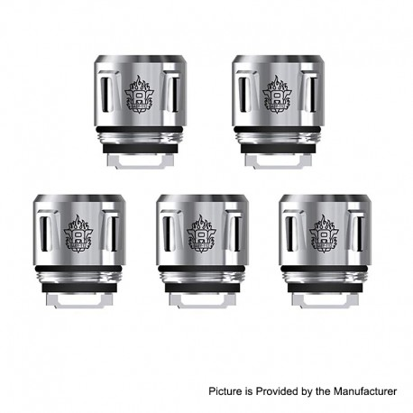Authentic SMOKTech SMOK V8 Baby-T12 Duodecuple Coil for TFV12 Baby Prince Tank - 0.15 Ohm (50~90W) (5 PCS)