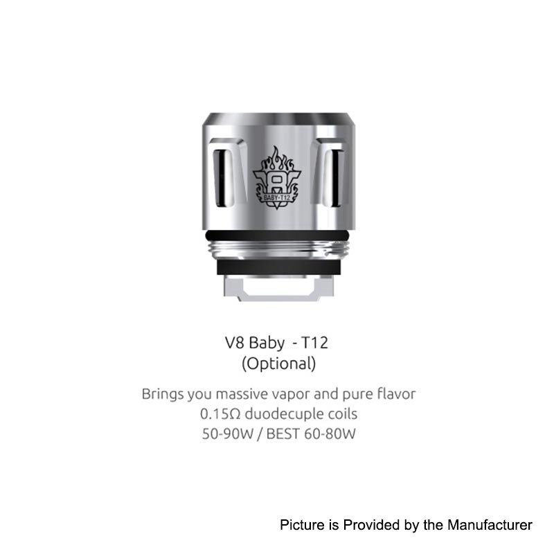 Authentic SMOK V8 Baby-T12 0.15ohm Coil for TFV12 Baby Prince Tank