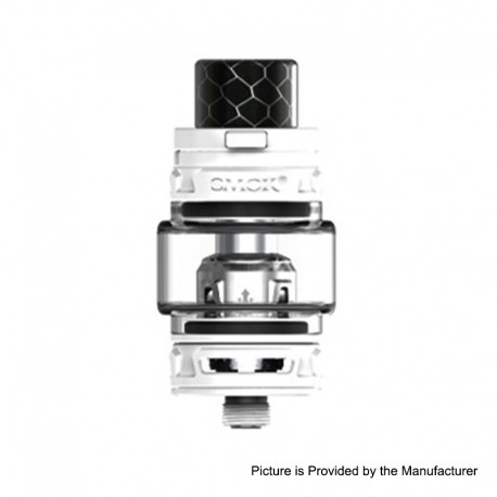 Authentic SMOKTech SMOK TFV12 Baby Prince Sub Ohm Tank Standard Edition - White, Stainless Steel, 4.5ml, 23mm Diameter