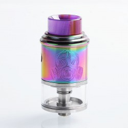 Apocalypse Mechlyfe Style RDTA Rebuildable Dripping Tank Atomizer - Rainbow, Stainless Steel, 3.5ml, 24mm Diameter