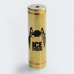 Authentic 5GVape Ice Spiders Hybrid Mechanical Mod - Brass, Brass, 1 x 18650 / 20700