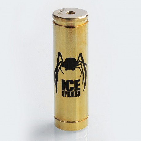 Authentic 5GVape Ice Spiders Hybrid Mechanical Mod - Brass, Brass, 1 x 18650 / 20700