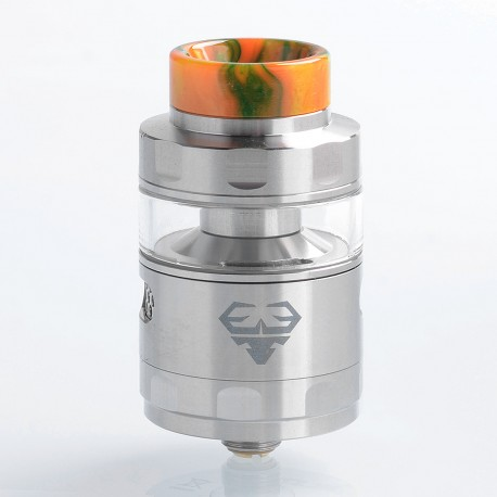 Authentic GeekVape Blitzen RTA Rebuildable Tank Atomizer Standard Edition - Silver, Stainless Steel, 5ml, 24mm Diameter