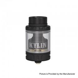 Authentic Vandy Vape Kylin Mini RTA Rebuildable Tank Atomizer - Black, Stainless Steel, 5ml, 24.4mm Diameter