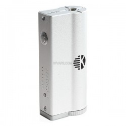 Authentic Kanger KBOX VW Variable Wattage APV Box Mod - Silver, Stainless Steel + Aluminum Alloy, 8~40W, 1 x 18650