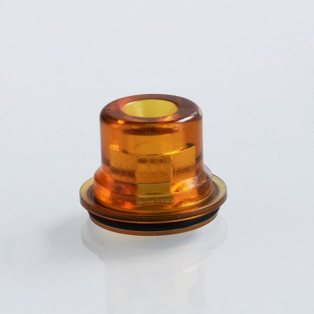 Coppervape Replacement Drip Tip for Skyline Style RTA / Skyline Drop Kit / Skydrop Kit - Brown, PEI, 13mm