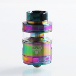 Authentic GeekVape Blitzen RTA Rebuildable Tank Atomizer Standard Edition - Rainbow, Stainless Steel, 5ml, 24mm Diameter