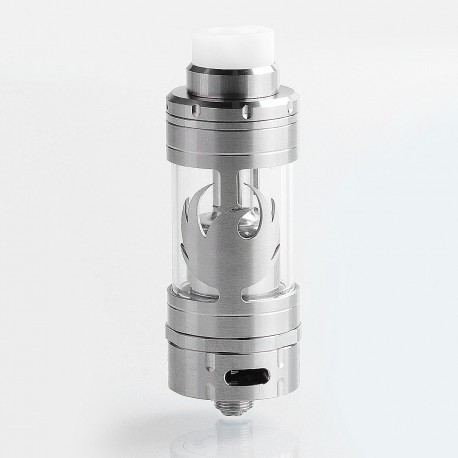 ShenRay VG V5s Style RTA Rebuildable Tank Atomizer - Silver, 316 Stainless Steel, 4.2ml, 23mm Diameter