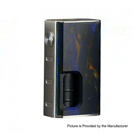 Authentic Wismec Luxotic 100W Squonk Box Mod - Swirled Metallic Resin, 7.5ml, 1 x 18650