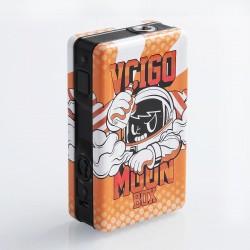 Authentic Sigelei Vcigo Moon Box 200W Mod - Orange, Tinplate + PC + ABS, 2 x 18650
