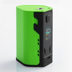 Authentic IJOY Captain X3 324W TC VW Variable Wattage Box Mod - Green, Zinc Alloy, 3 x 18650 / 20700