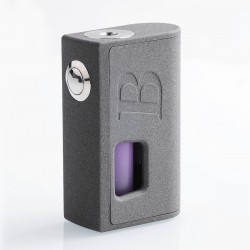 Authentic Bravo Box Bottom Feeder Squonk Mechanical Box Mod - Grey, ABS, 7ml, 1 x 18650 / 20700 / 21700