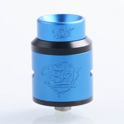 Lost Art Goon 1.5 Style RDA Rebuildable Dripping Atomizer w/ BF Pin - Blue, Aluminum + Stainless Steel, 24mm Diameter