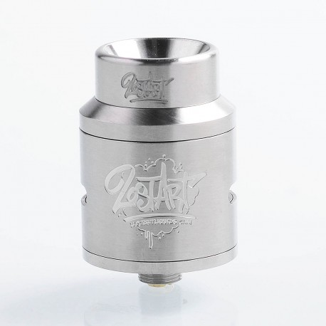 Lost Art Goon 1.5 Style RDA Rebuildable Dripping Atomizer w/ BF Pin - Silver, Stainless Steel, 24mm Diameter