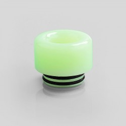 810 Replacement Drip Tip for TFV8 / TFV12 Tank / 528 Goon / Kennedy / Reload RDA - Green, Resin, 14mm, Glow-in-the-Dark