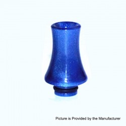 510 Replacement Drip Tip for RDA / RTA / Sub Ohm Tank - Blue, Epoxy Resin, 26mm