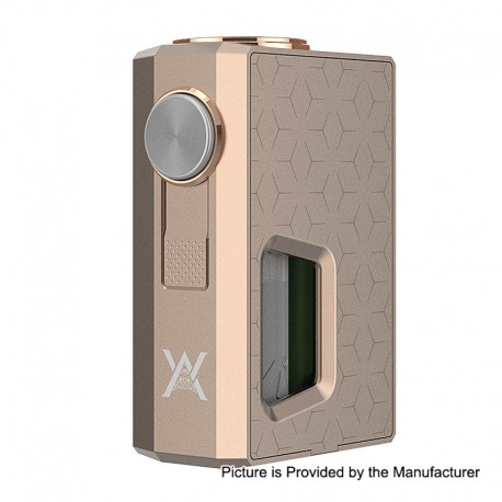 Authentic GeekVape Athena Squonk Mechanical Box Mod - Champagne Gold, Aluminum, 6.5ml, 1 x 18650