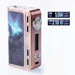 Authentic Smoant Charon 218W TC VW Variable Wattage Box Mod - Thors Hammer, Zinc Alloy, 1~218W, 2 x 18650