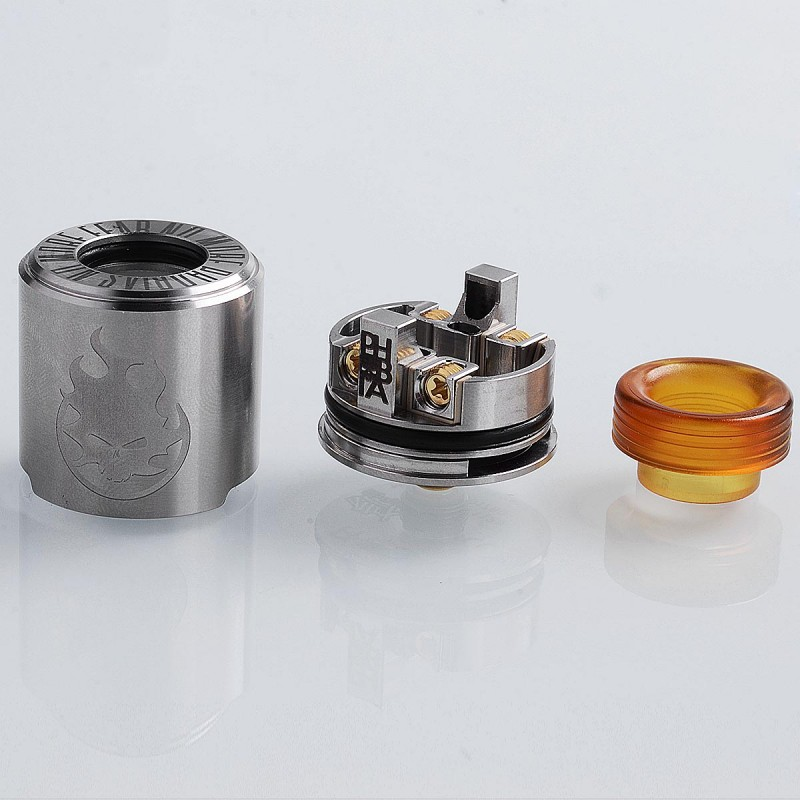 Authentic Vandy Vape Phobia Bf Rda Silver 24mm Rebuildable