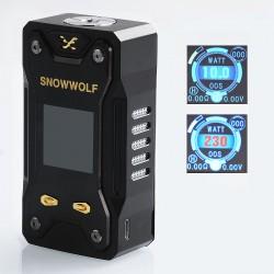 Authentic Sigelei Snowwolf Xfeng 230W TC VW Variable Wattage Box Mod - Black, 10~230W, 2 x 18650