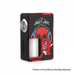 Authentic Vandy Vape Pulse BF Squonk Mechanical Box Mod - Sticker Edition 01, Nylon + ABS, 8ml, 1 x 18650 / 20700