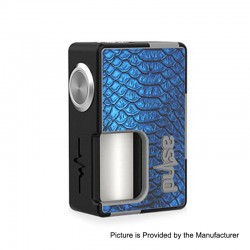 Authentic Vandy Vape Pulse BF Squonk Mechanical Box Mod - Sticker Edition 02, Nylon + ABS, 8ml, 1 x 18650 / 20700