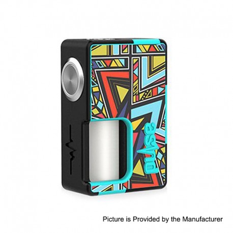 Authentic Vandy Vape Pulse BF Squonk Mechanical Box Mod - Sticker Edition 03, Nylon + ABS, 8ml, 1 x 18650 / 20700